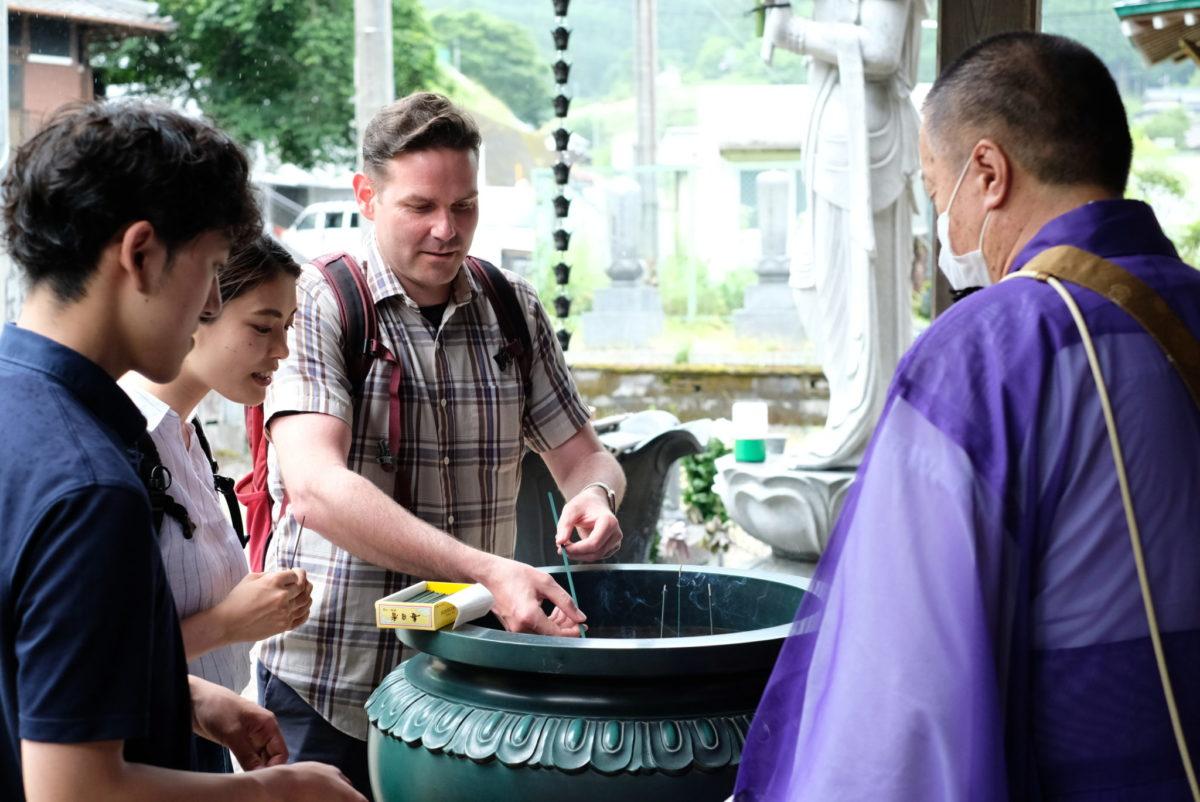 融通念仏宗のお寺で祈祷・鐘付き